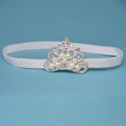 Silver Princess Headband