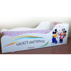 Mickey & Minnie Mouse Bed