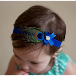 Peacock Hairband